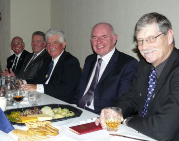 St Andrew's Night Top Table Guests