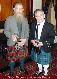 Burns Supper Artistes