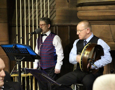 Singers at Burns Supper
