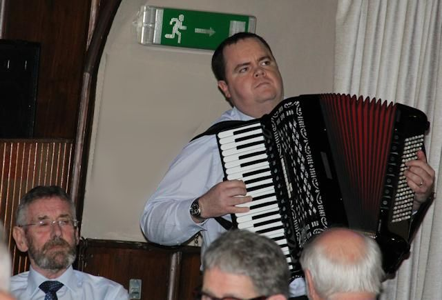 Accordionist Andrew Gordon