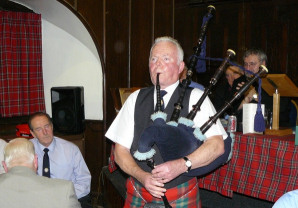 Burns Supper Piper