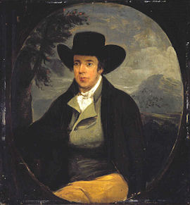 Robert Burns by Peter Taylor