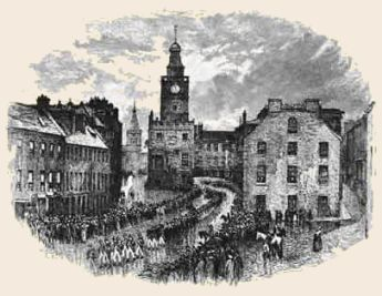 The Death of Robert Burns