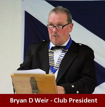 Burns Club President