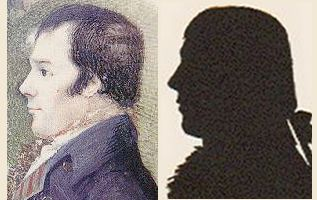 comparison between Robert Burns's images