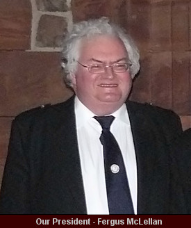 Robert Burns Club President