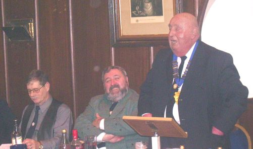 Burns club Chairman