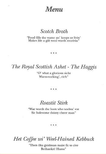 burns supper menu template burns supper at alexandria 39 s robert burns club