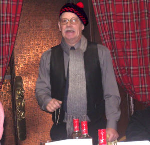 Performing Robert Burns Work