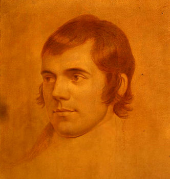 Robert Burns by Archibald Skirving