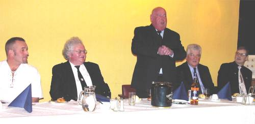 st andrews night top table guests