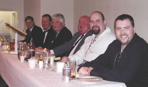 St. Andrews Night Top Table Guests